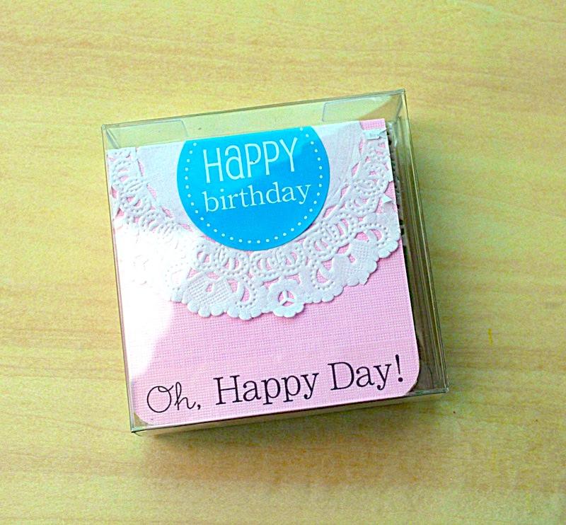 SRM Stickers Mini Birthday Cards By Yvonne