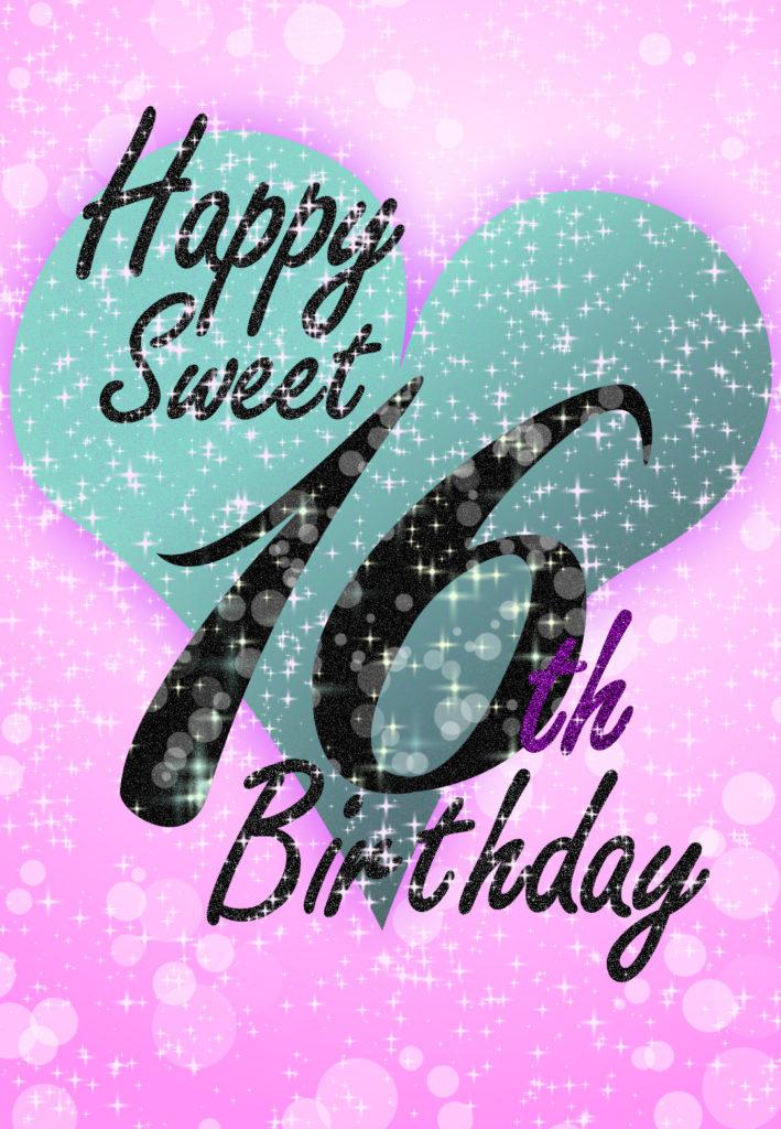 Sweet 16 Birthday Card Free Greetings Island