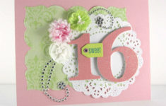 Printable Sweet Sixteen Birthday Cards