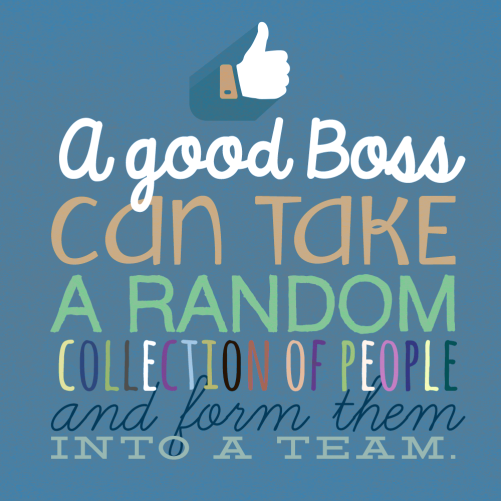 Teamwork Boss Day Card Free Greetings Island