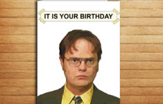 The Office Birthday Cards Printable