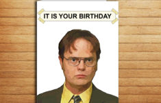 The Office Birthday Card Printable Free