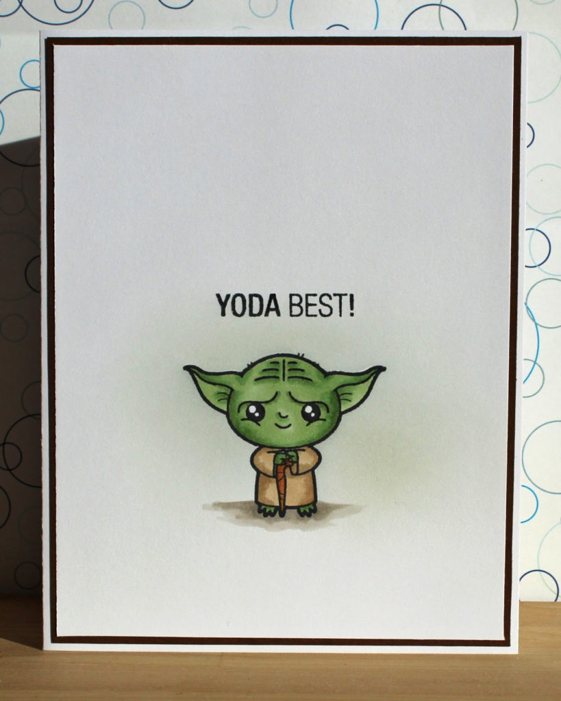 There s A Card For That Yoda Best A Clean And Simple