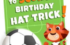 Free Printable Soccer Birthday Cards