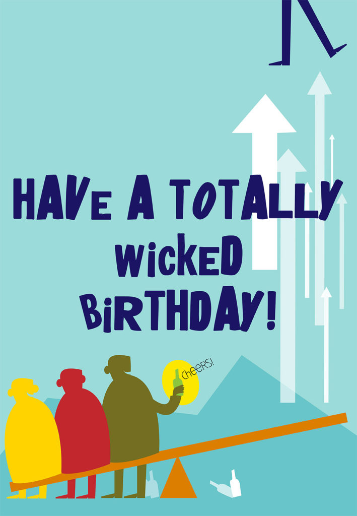 Totally Wicked Birthday Birthday Card Free Greetings