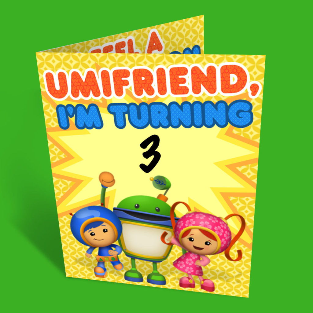 Umizoomi Party Invitations Nickelodeon Parents