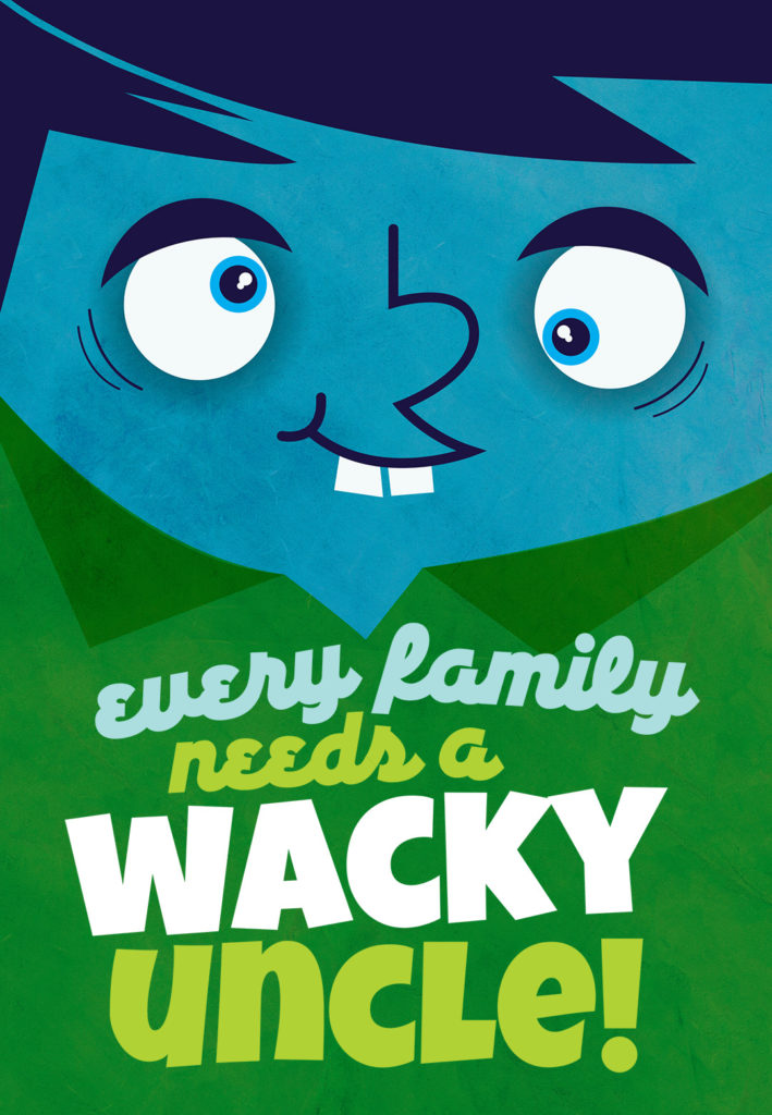 Wacky Uncle Free Birthday Card Greetings Island