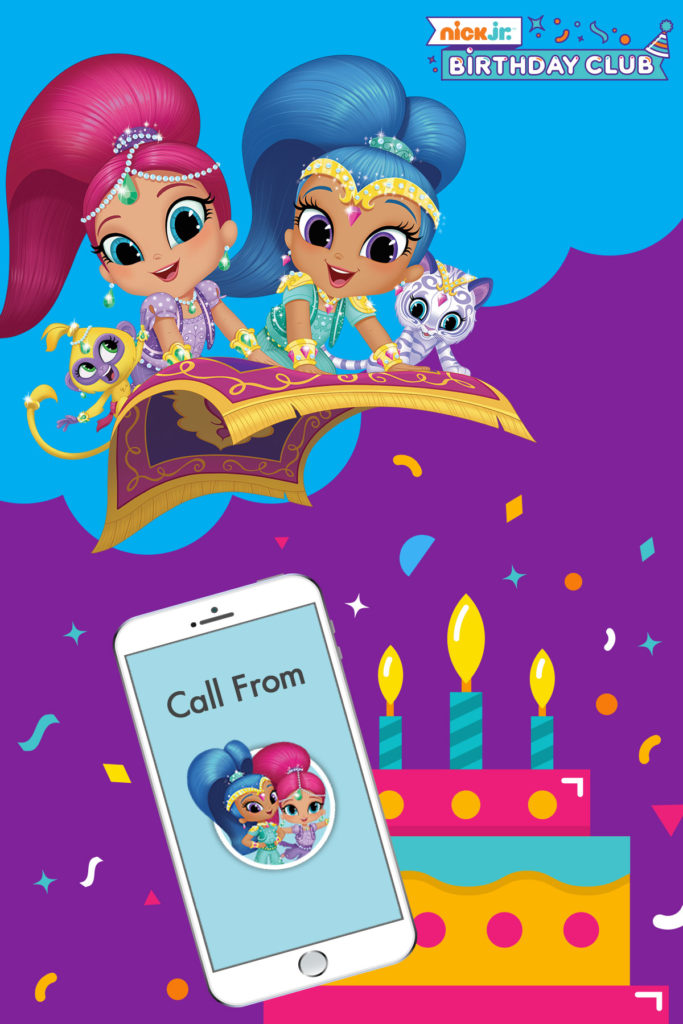 Welcome To The Nick Jr Birthday Club Nickelodeon Parents