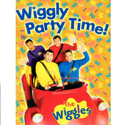 Wiggles Invitations W Env 8ct