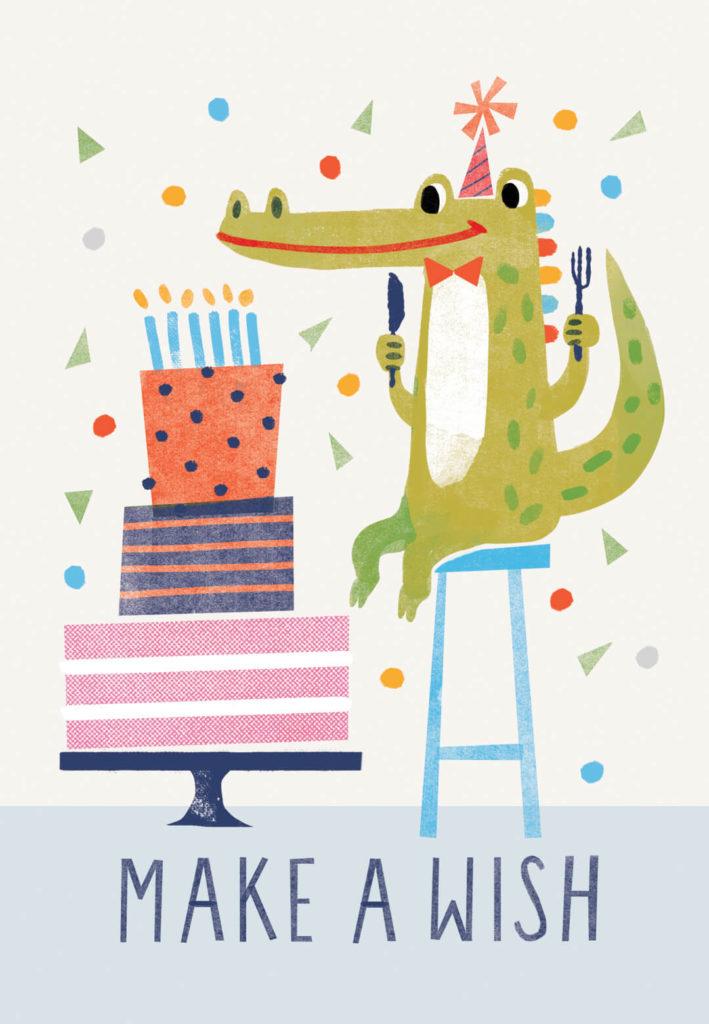 Wishful Thinking Birthday Card Free Greetings Island