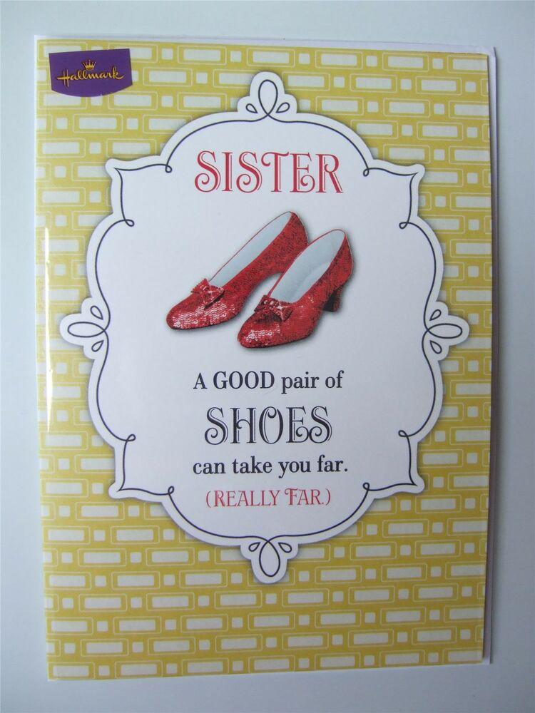Wizard Of Oz Birthday Card For A SISTER By Hallmark