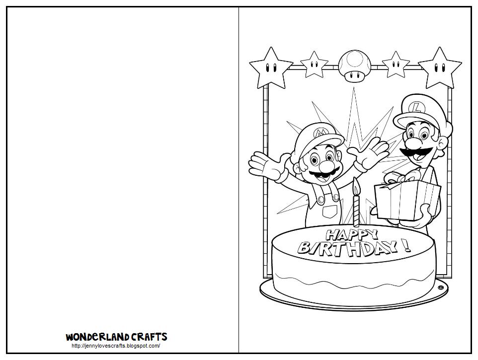 Wonderland Crafts Birthday Cards