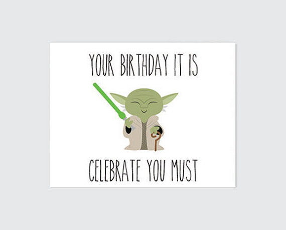 Yoda Quotes Funny Happy Birthday QuotesGram